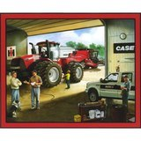 Case International Harvester Garage Fabric Panel - 36in